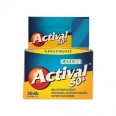 BERES ACTIVAL 50+ FILMTABLETTA 30X