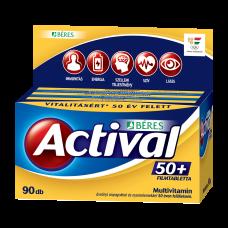 BERES ACTIVAL 50+ FILMTABLETTA 90X