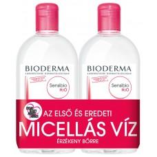 BIODERMA SENSIBIO H2O MICELLAFESZTIVAL 2X250ML