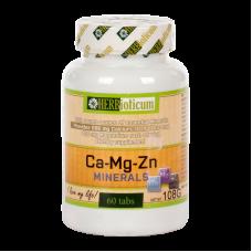 HERBIOTICUM CA+MG+ZN MINERALS TABLETTA 60X