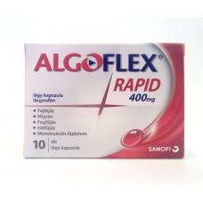 ALGOFLEX RAPID 400MG LAGY KAPSZ. 10X