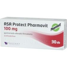 ASA PROTECT PHARMAVIT 100MG GYNEDV.ELL.FTBL. 30X