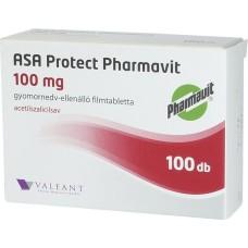ASA PROTECT PHARMAVIT 100MG GYNEDV.ELL.FTBL.100X