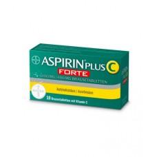 ASPIRIN PLUS C FORTE 800MG/480MG PEZSGOTABL. 10X