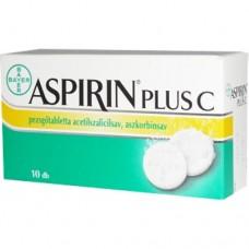 ASPIRIN PLUS C PEZSGOTABL. 10X