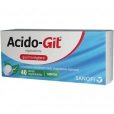 ACIDO-GIT MAALOX RAGOTABL. 40X
