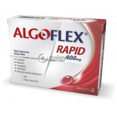 ALGOFLEX RAPID 400MG LAGY KAPSZULA 30X