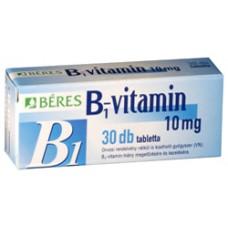 BERES B1 VITAMIN 10 MG TABL. 30X