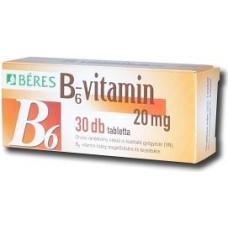 BERES B6 VITAMIN TABLETTA 30X