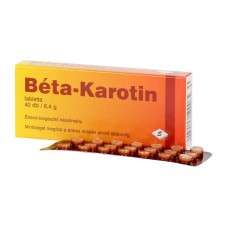 BETA KAROTIN TABLETTA 40X