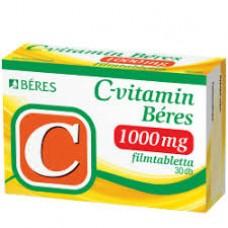 C-VITAMIN BERES 1000MG FILMTABL. 30X