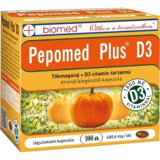BIOMED PEPOMED PLUS D3-VITAMIN KAPSZULA 100x