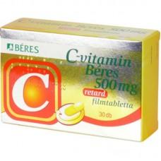 C-VITAMIN BERES 500MG RETARD FILMTABL. 30X