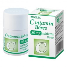 C-VITAMIN BERES 50MG TABLETTA 120X