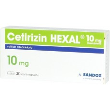 CETIRIZIN HEXAL 10 MG FILMTABL. 30X