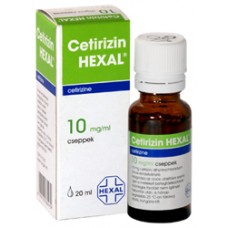CETIRIZIN HEXAL 10 MG/ML BELS.OLD. CSEPP.1X20ML