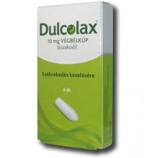 DULCOLAX 10 MG VEGBELKUP 6X