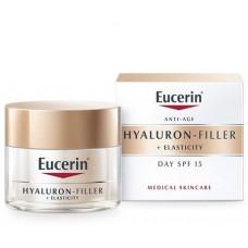 EUCERIN HYALURON-FILLER+ELASTIC.SPF15 NAPP. 50ML