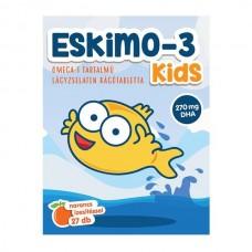 ESKIMO KIDS OMEGA-3 RÁGÓTABLETTA 27X