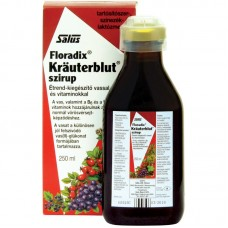 FLORADIX KRAUTERBLUT-S SZIRUP 250ML