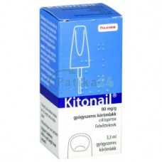KITONAIL 80MG/G GYOGYSZERES KOROMLAKK 1X3,3 ML