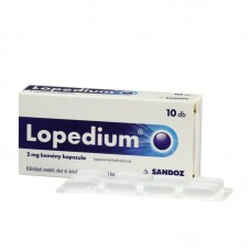 LOPEDIUM 2MG KEMENY KAPSZULA 10X