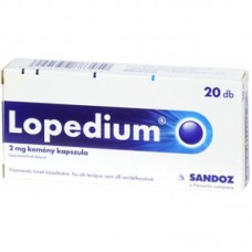 LOPEDIUM 2MG KEMENY KAPSZULA 20X