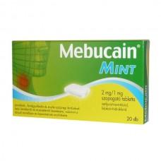 MEBUCAIN MINT 2MG/1MG SZOPOGATO TABLETTA 20X