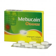 MEBUCAIN ORANGE SZOPOGATO TABL. 16X