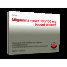 MILGAMMA NEURO 100/100MG BEVONT TABL. 30X