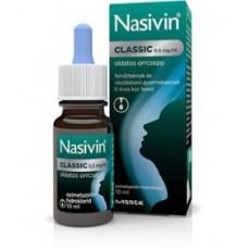 NASIVIN CLASSIC 0,5MG/ML ORRCSEPP 1X10ML