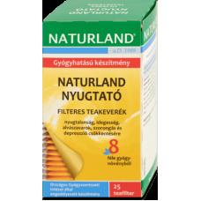 NATURLAND NYUGTATO TEA FILTERES 25X1.5G