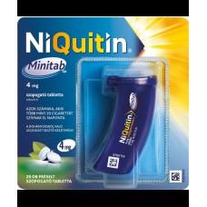NIQUITIN MINITAB 4MG PRESELT SZOP.TABL. 20X