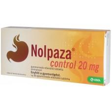 NOLPAZA CONTROL 20MG GYNEDV.ELL.TABL. 14X