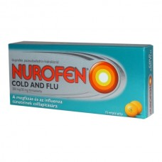 NUROFEN COLD AND FLU 200MG/30MG FILMTABL. 24X