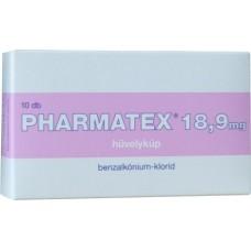 PHARMATEX 18,9 MG HUVELYKUP 10X