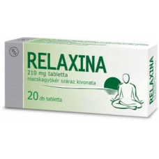 RELAXINA 210MG TABLETTA 20X