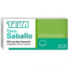 TEVA-SABALLO 320MG LAGY KAPSZ. 60X