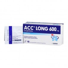 ACC LONG 600MG PEZSGOTABL. 10X