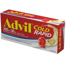 ADVIL COLD RAPID 200MG/30MG LAGY KAPSZ. 10X