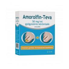 AMOROLFIN-TEVA 50MG/ML GYOGYSZ.KOROMLAKK 1X2,5ML