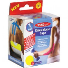 WUNDMED KINESIO TAPE 5CMX5M SARGA