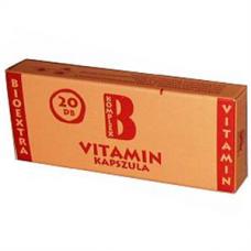 VITAMIN B KOMPLEX BIOEXTRA LAGY KAPSZ. 20X