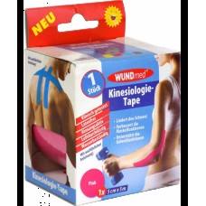 WUNDMED KINESIO TAPE 5CMX5M ROZSASZIN